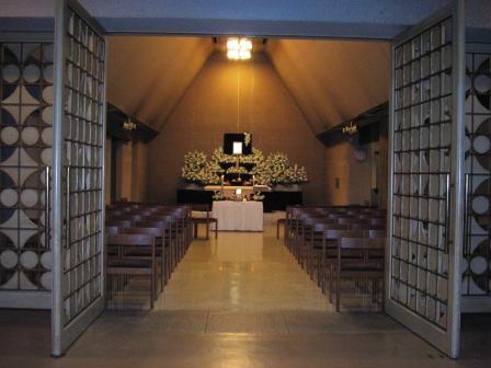 調布市のかわさき北部斎苑での葬儀実施例
