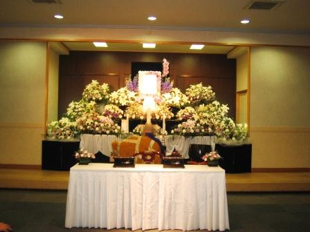 調布市の西光寺 不動殿での葬儀実施例