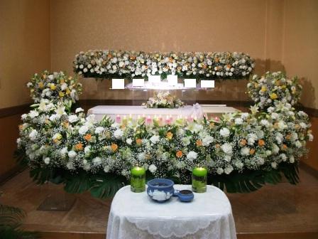 調布市の座間サポートセンターでの葬儀実施例