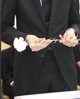 府中市の多磨葬祭場 行華殿 花の無宗教・家族葬(1日葬)