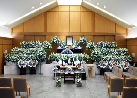 西多摩郡の瑞穂斎場での葬儀実施例