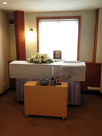 立川市の無門庭園 2F個室【仏式(臨済宗) 1日葬】施行例