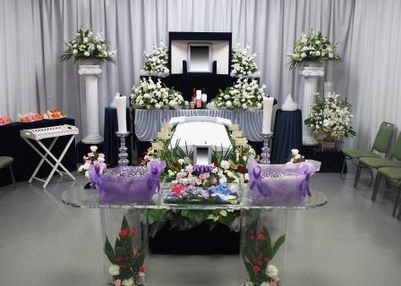 荒川区のの町屋斎場での葬儀実施例