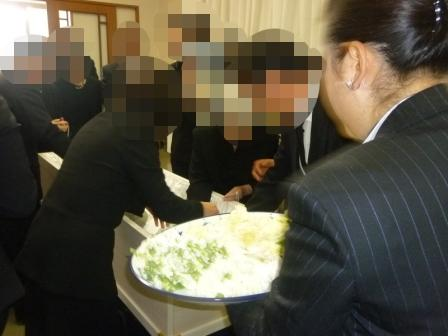 葛飾区の四ツ木斎場【仏式(真言宗) 1日葬】での葬儀実施例