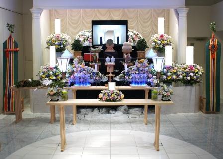 フェアウェルプレイス・ディア【神道 花の家族葬】での葬儀施行例