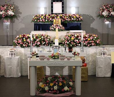 目黒区のセレモニー目黒 【天台宗 家族葬】施行例での葬儀実施例