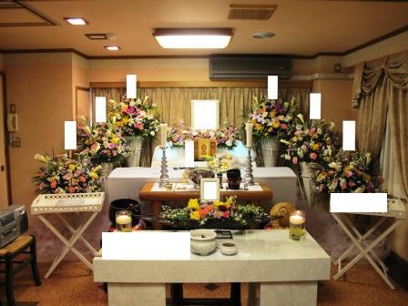 スペース品川 仏式(真言宗)1日葬の葬儀実施例