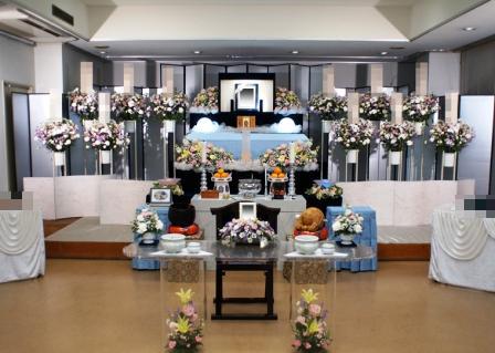 医王寺 国宝殿花祭壇