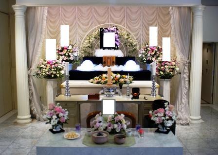 フェアウェルプレイス・ディア仏式祭壇例