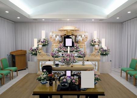 南山ホール祭壇仏式