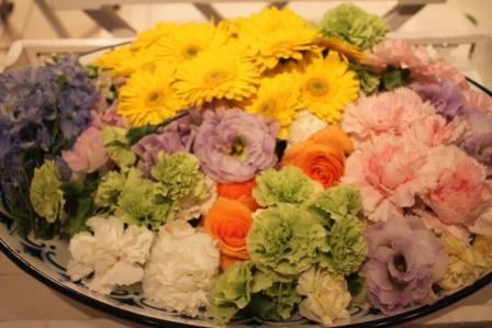フェアウェルプレイス・ディア花のお見送り