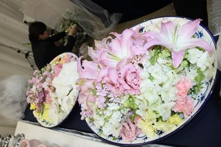 桐ヶ谷斎場送り花