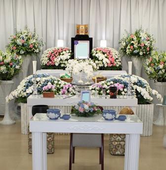 代々幡斎場仏式祭壇