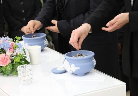 代々幡斎場ご焼香
