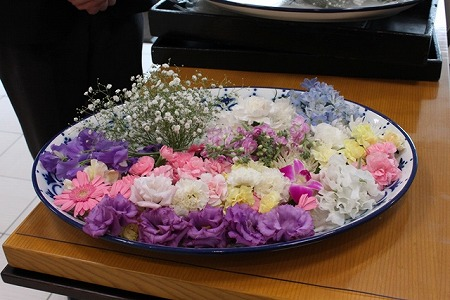 南山ホール送り花