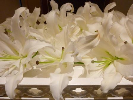 常性寺お別れ花
