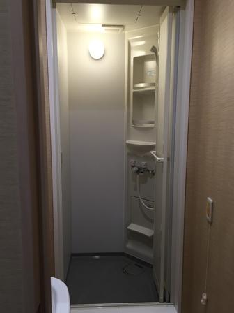 南山ホールシャワー室