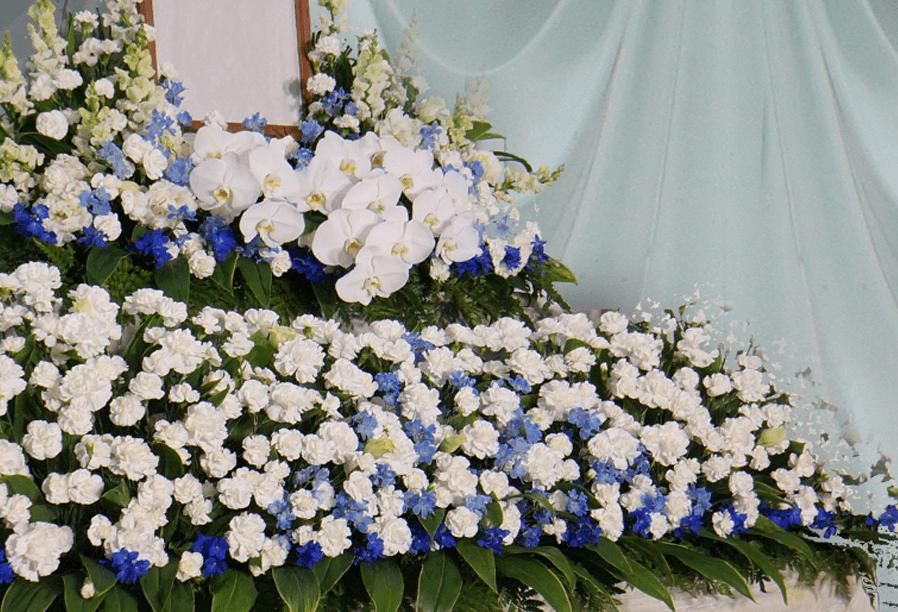 葬儀・葬送花の家族葬プラン2