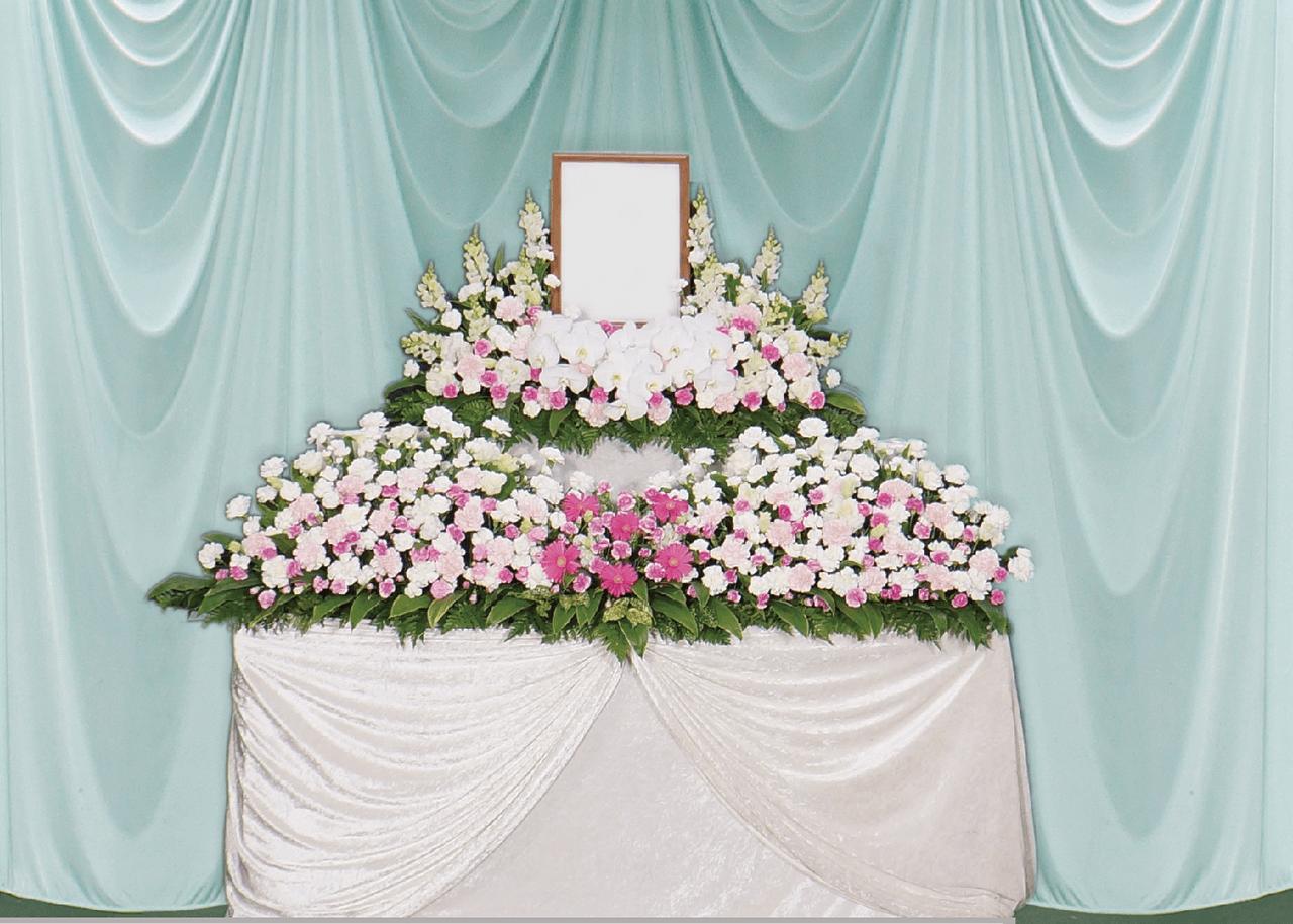 葬儀・葬送花の家族葬プラン3