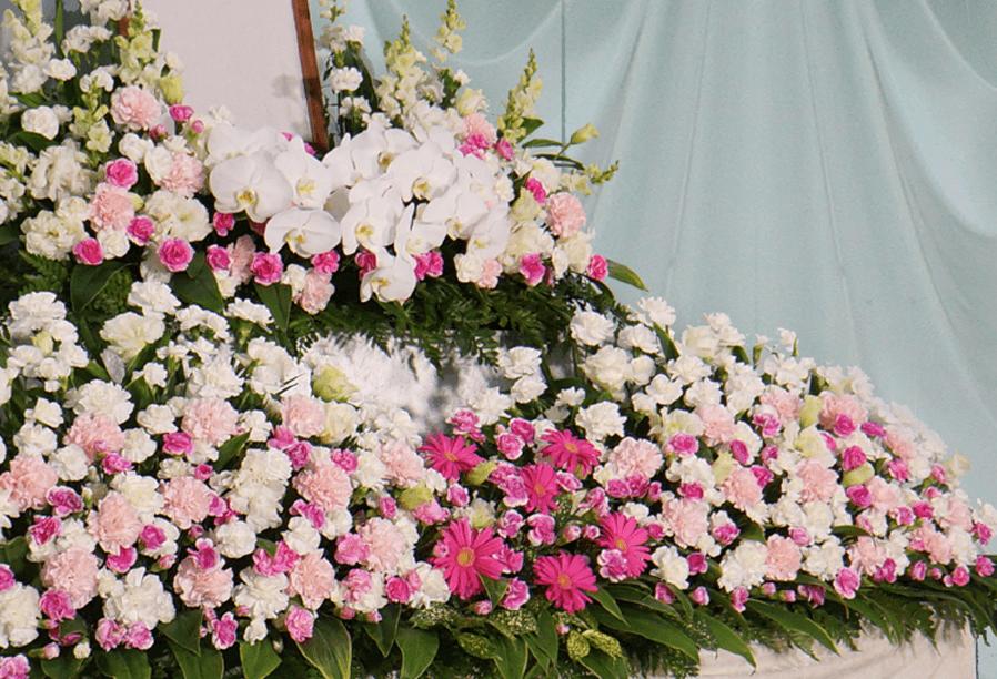 葬儀・葬送花の家族葬プラン4