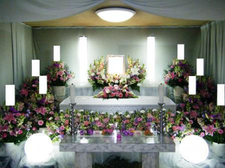 小平サポートセンター花祭壇