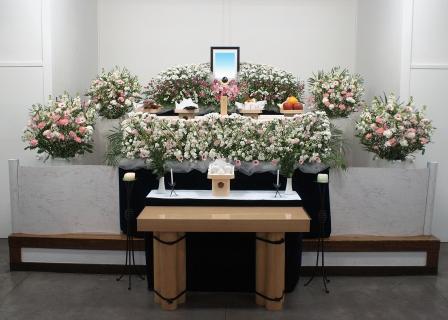 玉川斎場花祭壇