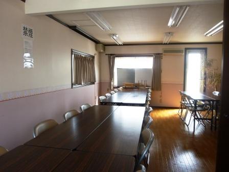 小平サポートセンター休憩室