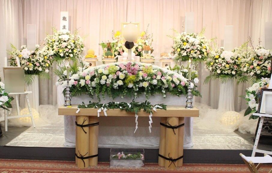 多磨葬祭花祭壇