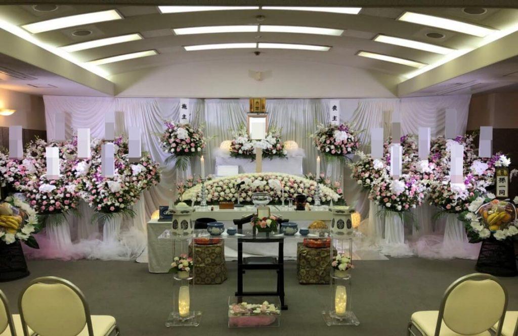 南多摩斎場花祭壇