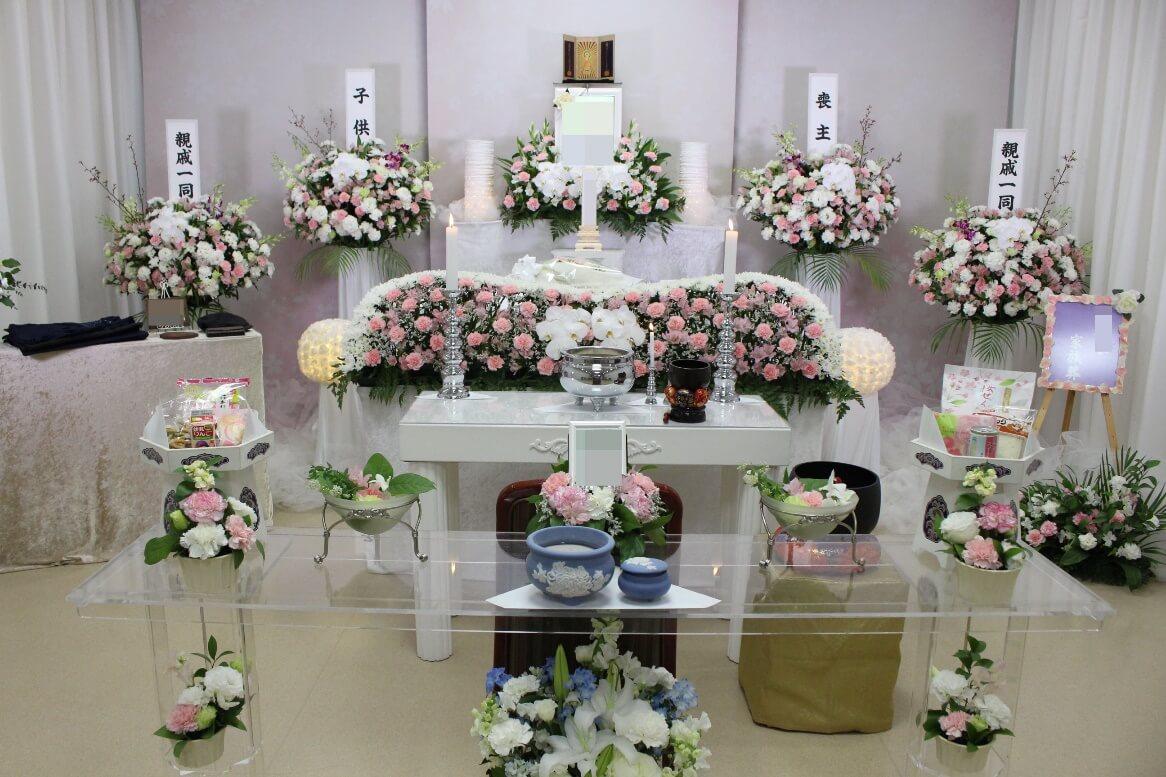 町屋斎場花祭壇