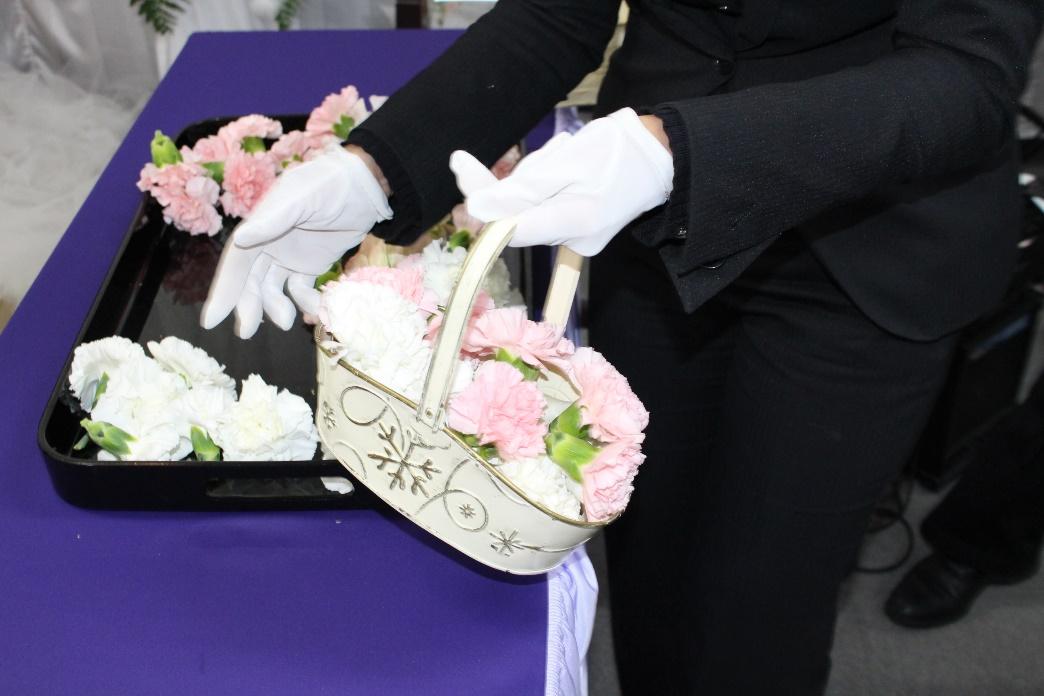 調布常演寺送り花