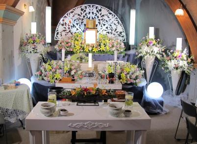 無門庭園1日葬日蓮宗祭壇