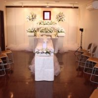メモリアルハウス多摩キリスト教祭壇