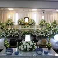 仙川斎場:花祭壇