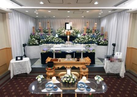 多磨葬祭場花祭壇