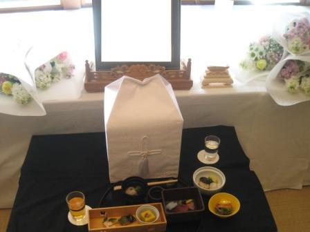 昌翁寺故人へのお食事