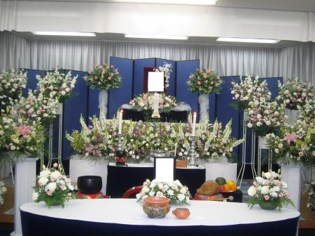 明月院祭壇仏式