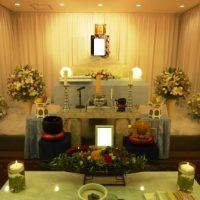 多摩斎場花祭壇仏式
