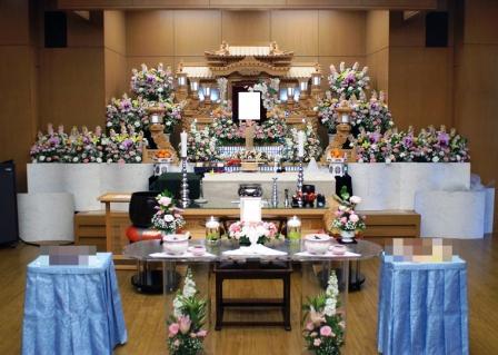 府中の森市民聖苑花祭壇