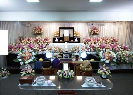 セレモリアル仙川斎場祭壇