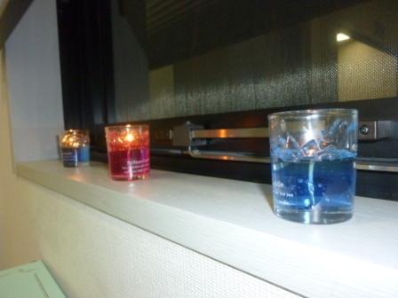 セレモリアル仙川斎場蝋燭