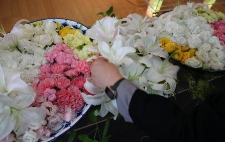 京王メモリアル調布お別れ花