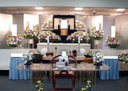 仙川斎場:祭壇
