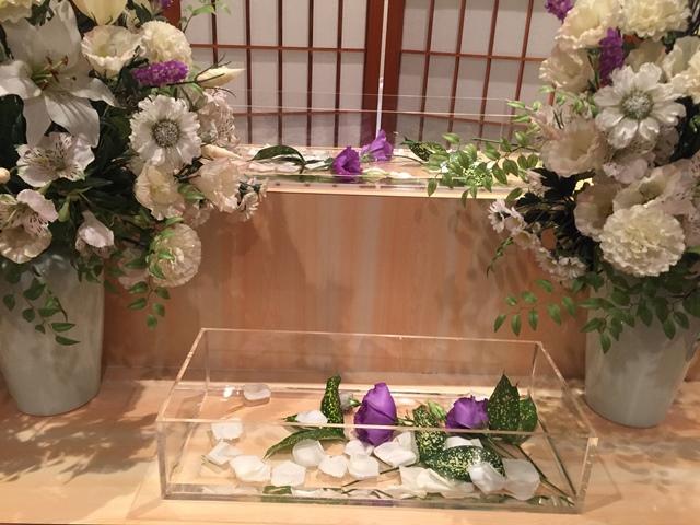 メモリアルハウス多摩花飾り