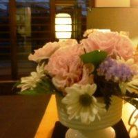 昌翁寺菩提堂花飾り