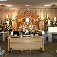 南多摩斎場祭壇