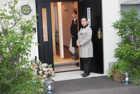 仙川斎場別院:お迎え