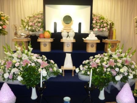 仙川斎場:神道祭壇