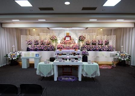 京王メモリアル調布:花祭壇