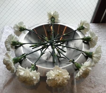メモリアルハウス多摩:献花